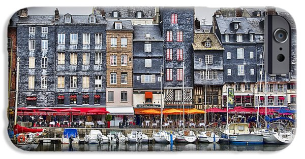 Recently Sold -  - Village iPhone Cases - Honfleur iPhone Case by Delphimages Photo Creations