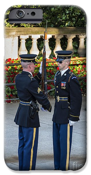 Honor Guard Inspection iPhone Case by John Greim