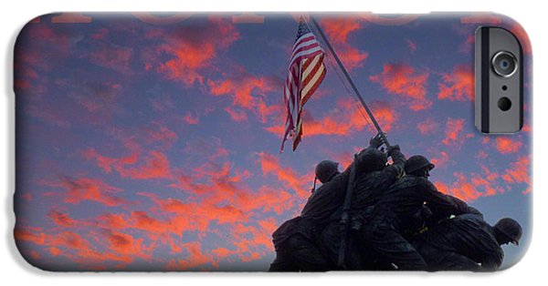 Vetran iPhone Cases - Honor iPhone Case by JC Findley