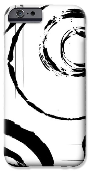 Abstract Digital Drawings iPhone Cases - Honor iPhone Case by Melissa Smith