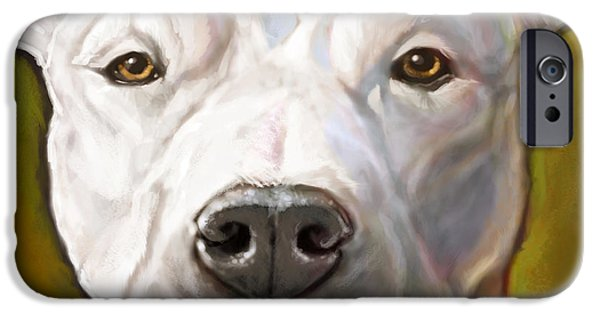 Portrait iPhone Cases - Honor iPhone Case by Sean ODaniels