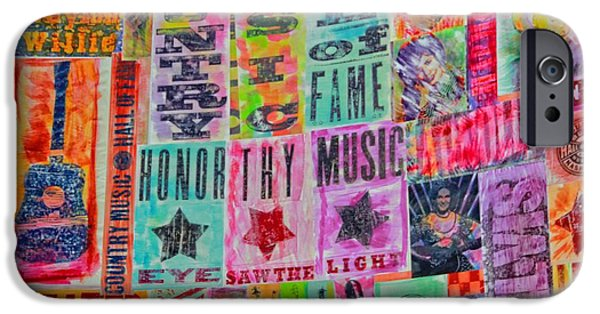 Honor iPhone Cases - Honor Thy Music Blanket iPhone Case by Dan Sproul