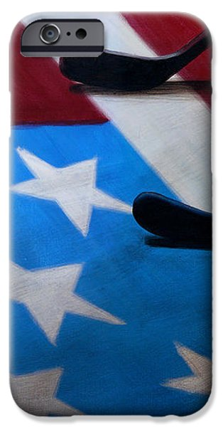 Honoring America iPhone Case by Marlon Huynh