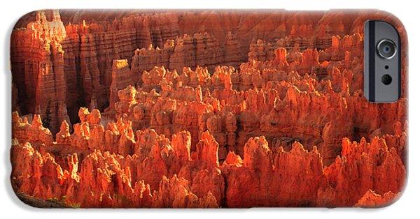Haybale iPhone Cases - Hoodoos Basin iPhone Case by Robert Bales