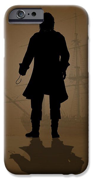 Pirate Ship iPhone Cases - Hook iPhone Case by Bob Orsillo