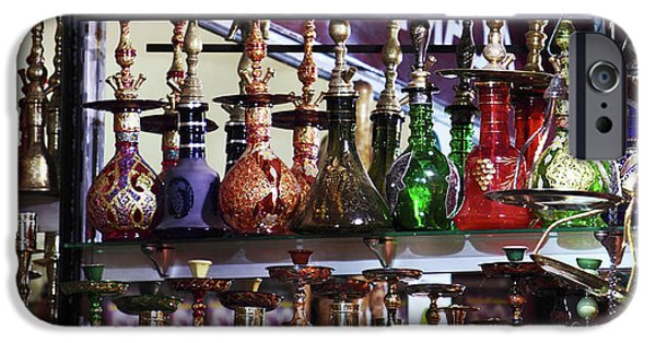 Hookah iPhone Cases - Hookah Pipes iPhone Case by John Rizzuto