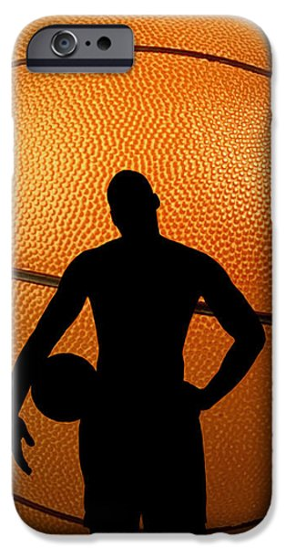 Hoop Dreams iPhone Case by Cheryl Young