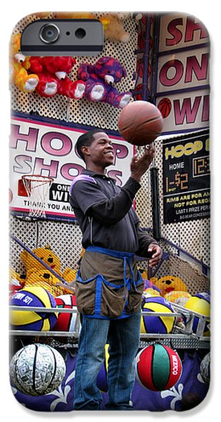 Hoop Shots iPhone Case by Rory Sagner
