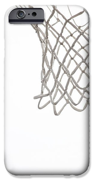 Hoops iPhone Case by Karol  Livote