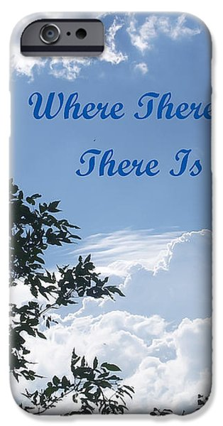 Hope iPhone Case by Aimee L Maher Photography and Art