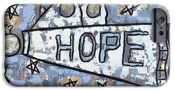 Hope Digital Art iPhone Cases - Hope iPhone Case by Anthony Falbo