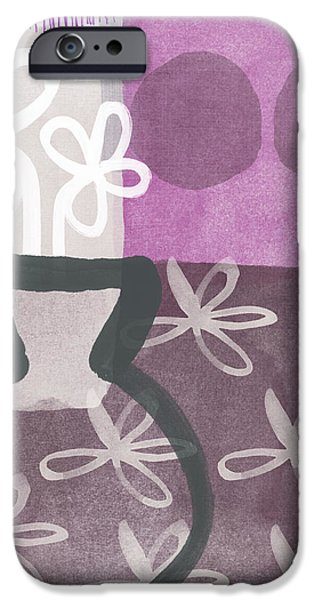 Hope- Contemporary Art iPhone Case by Linda Woods