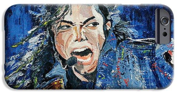 Mj Paintings iPhone Cases - Hope Dream Believe iPhone Case by Vidya Vivek