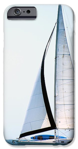 Hope Floats Sailboat from the book MY OCEAN iPhone Case by Artist and Photographer Laura Wrede