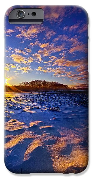 Crops iPhone Cases - Hope Is Never Lost iPhone Case by Phil Koch