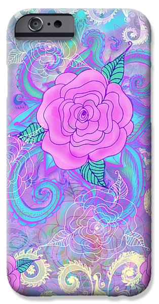 Hope iPhone Cases - Hope Roses iPhone Case by Alixandra Mullins