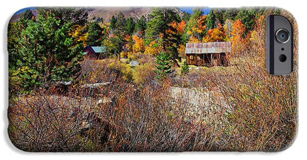 Americana Photographs iPhone Cases - Hope Valley Fall Colors iPhone Case by Scott McGuire