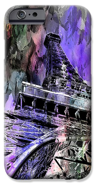 Looking Digital Art iPhone Cases - Hopeless Romantic iPhone Case by Az Jackson
