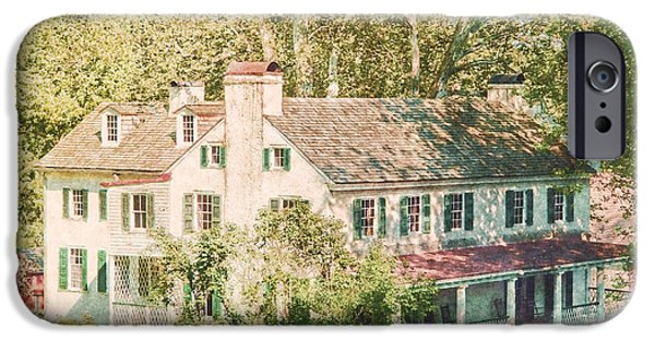 Site iPhone Cases - Hopewell Furnace in Pennsylvania iPhone Case by Olivier Le Queinec