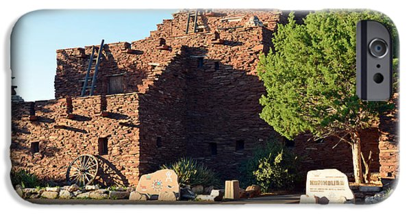Arizona iPhone Cases - Hopi House in Grand Canyon Village at Sunset iPhone Case by Shawn O