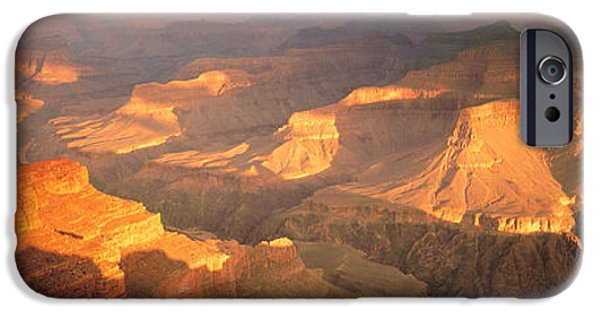 Grand Canyon iPhone Cases - Hopi Point Canyon Grand Canyon National iPhone Case by Panoramic Images