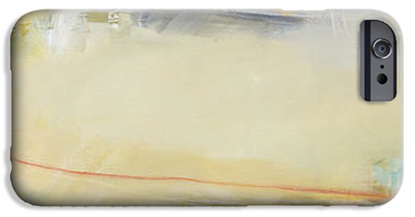 Young Paintings iPhone Cases - Horizontal development iPhone Case by Ira Ivanova