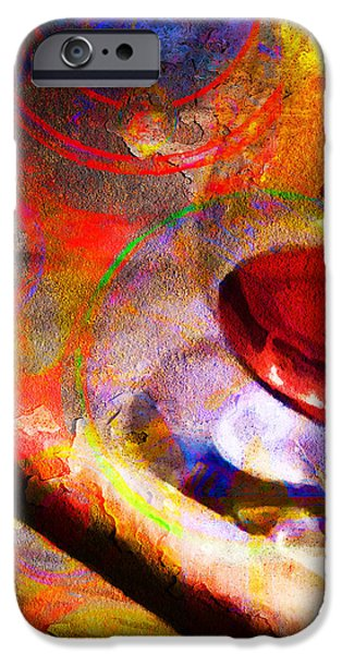 Hors d Age Cognac And Stogie iPhone Case by Wingsdomain Art and Photography