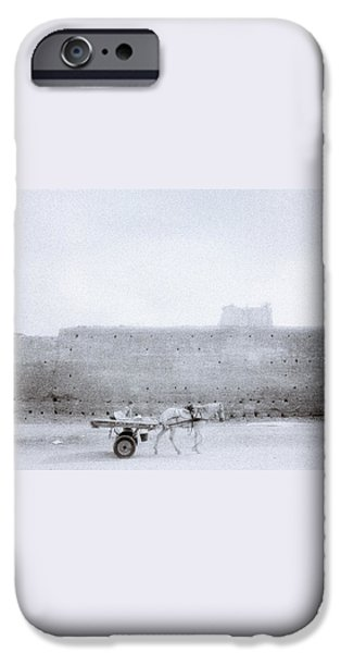 Horse And Cart iPhone Case by Shaun Higson