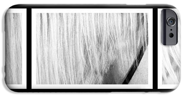 Young iPhone Cases - Horse in series of three iPhone Case by Toppart Sweden