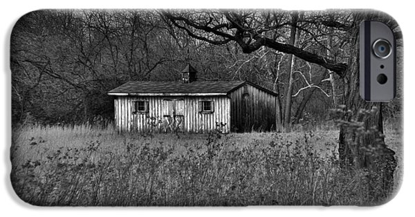 Shed iPhone Cases - Horse Shed iPhone Case by Robert Geary