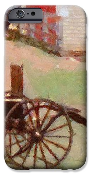 Horseless Carriage iPhone Case by Jeff Kolker