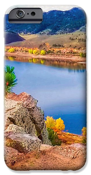 Horsetooth Lake Overlook iPhone Case by Jon Burch Photography