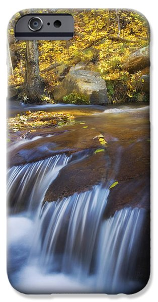 Oak Creek iPhone Cases - Horton Creek Jaws iPhone Case by Peter Coskun