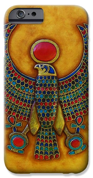 Horus iPhone Case by Joseph Sonday