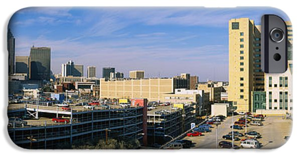 Healthcare And Medicine iPhone Cases - Hospital In A City, Grady Memorial iPhone Case by Panoramic Images