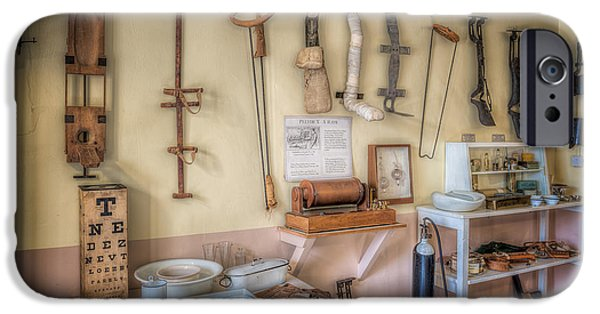 Medical Equipment iPhone Cases - Hospital Museum iPhone Case by Adrian Evans