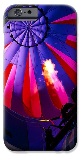 Hot Air Balloon iPhone Cases - Hot Air Balloon 1 iPhone Case by Bill Caldwell -        ABeautifulSky Photography