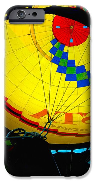 Hot Air Balloon iPhone Cases - Hot Air Balloon 3 iPhone Case by Bill Caldwell -        ABeautifulSky Photography