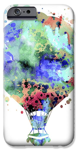 Hot Air Balloon iPhone Cases - Hot Air Balloon  3 iPhone Case by Luke and Slavi