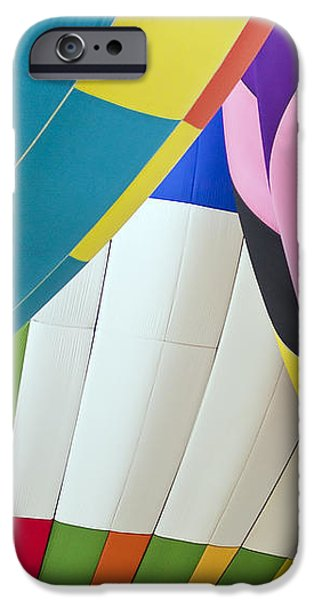 Hot Air Balloon iPhone Case by Marcia Colelli