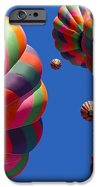 Hot Air Balloon Panoramic iPhone Case by Edward Fielding