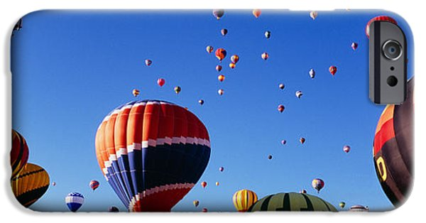 Hot Air Balloon iPhone Cases - Hot Air Balloons At The International iPhone Case by Panoramic Images