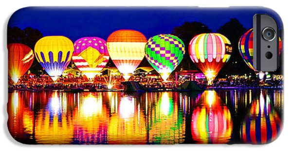 Hot Air Balloon iPhone Cases - Hot Air Balloons iPhone Case by Bob Hancock