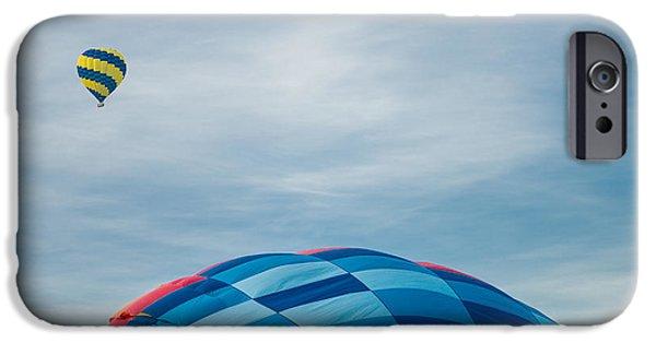Hot Air Balloon iPhone Cases - Hot Air Balloons iPhone Case by Steve Gadomski