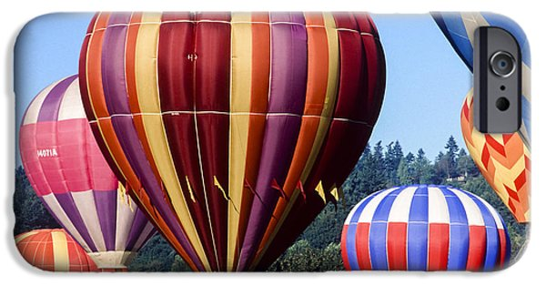 Hot Air Balloon iPhone Cases - Hot Air iPhone Case by Kelley King