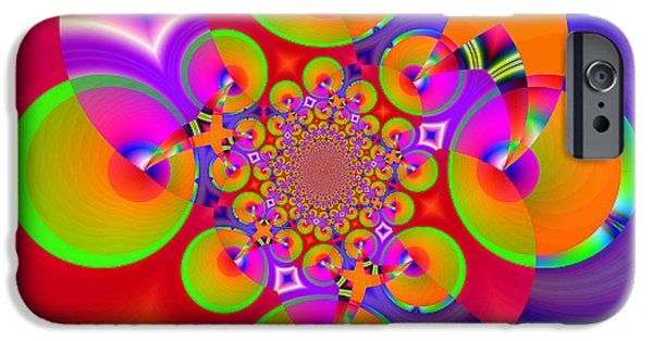 Business Digital iPhone Cases - Hot Crush 1 iPhone Case by Wendy J St Christopher