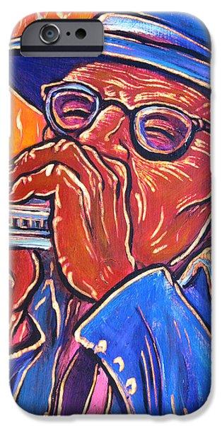 Hot Harp iPhone Case by Robert Ponzio