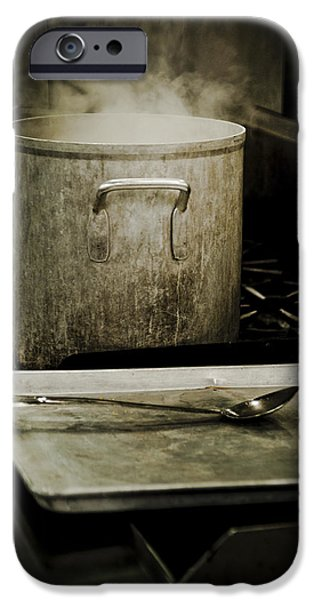 Stainless Steel iPhone Cases - Hot pot iPhone Case by Richard ONeil