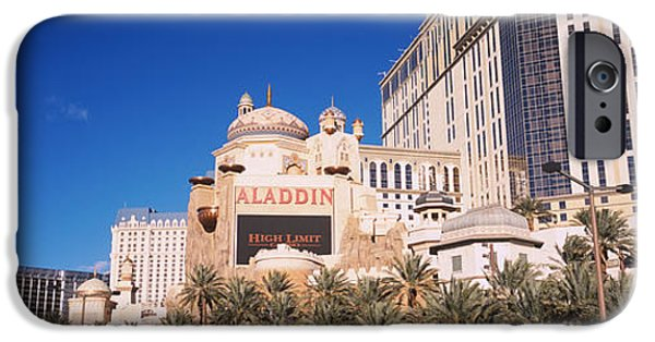 Imitation iPhone Cases - Hotel In A City, Aladdin Resort And iPhone Case by Panoramic Images