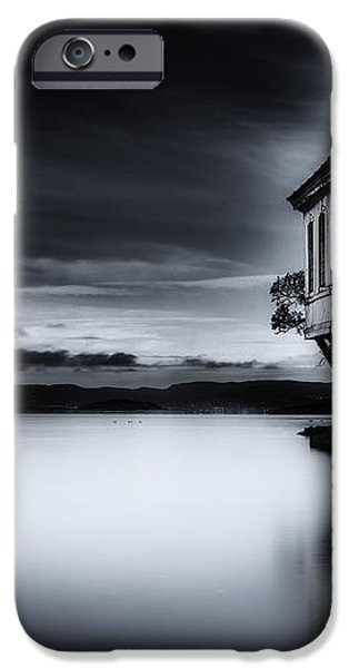 House By The Sea iPhone Case by Erik Brede